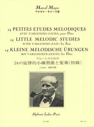 Marcel Moyse: 24 Petites Etudes Melodiques