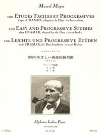 Marcel Moyse: 100 Etudes Faciles et Progressives 1