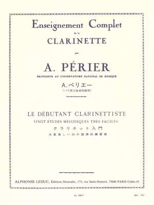 Perier: Debutant Clarinettiste