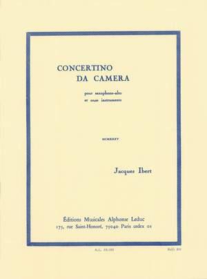Jacques Ibert: Concertino Da Camera