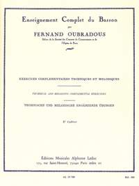 Fernand Oubradous: Enseignement complet Vol.3
