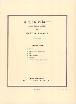 Gaston Litaize: Douze Pièces pour Grand Orgue Vol. 2
