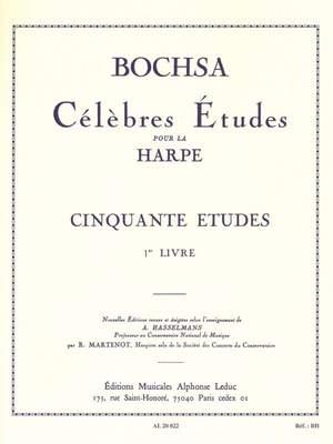 Robert Nicholas Charles Bochsa: Cinquante Études Op. 34, Vol. 1