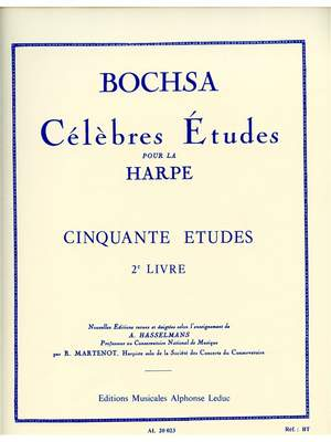 Robert Nicholas Charles Bochsa: Cinquante Études Op. 34, Vol. 2