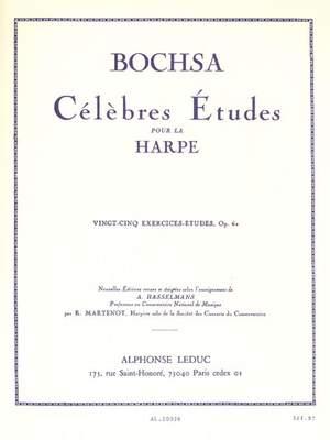 Robert Nicholas Charles Bochsa: 25 Exercices-Etudes Op. 62