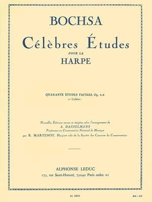 Robert Nicholas Charles Bochsa: 40 Etudes Faciles Op. 318 Vol.1