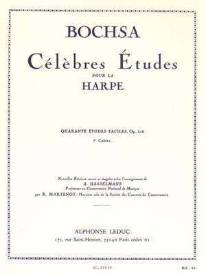Robert Nicholas Charles Bochsa: 40 Etudes Faciles Op. 318 Vol.2