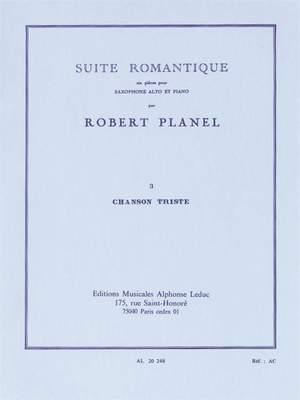 Robert Planel: Suite romantique No.3