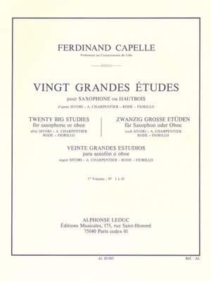 F. Capelle: 20 Grandes Etudes Vol.1