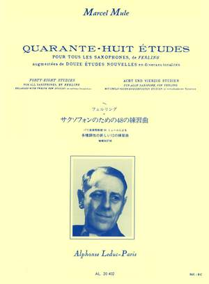 Marcel Mule: 48 Études (Ferling)