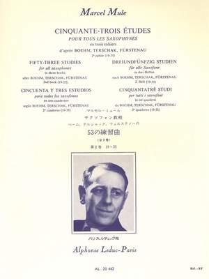 Marcel Mule: 53 Etudes 2, d'après Boehm, Terschak et Fürstenau