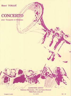 Tomasi: Concerto For Trumpet And Orchestra