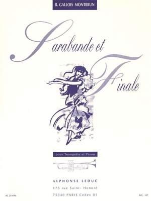 Raymond Gallois Montbrun: Sarabande Et Finale Product Image