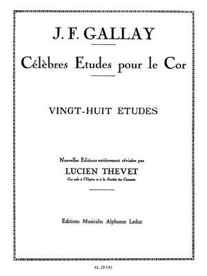 Jacques-François Gallay: 28 Etudes Op.13