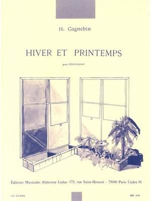 Gagnebin: Hiver Et Printemps
