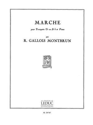 Raymond Gallois Montbrun: Raymond Gallois-Montbrun: Marche Product Image