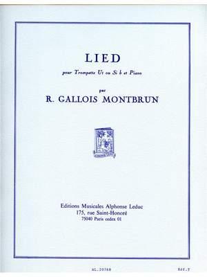 Raymond Gallois Montbrun: Raymond Gallois-Montbrun: Lied Product Image
