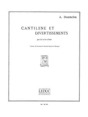 Alfred Desenclos: Cantilene Et Divertissement