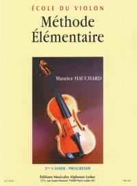 Maurice Hauchard: Méthode Élémentaire Vol.2 - Progressif
