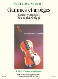 Maurice Hauchard: Gammes et Arpeges, Vol.2