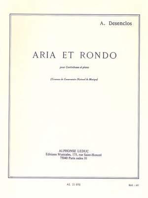 Alfred Desenclos: Aria Et Rondo