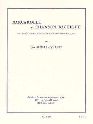 Nikolaus Selnecker: Barcarolle and Bacchanalian Song