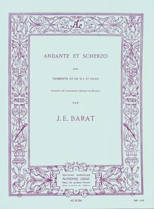 Joseph Edouard Barat: Andante & Scherzo