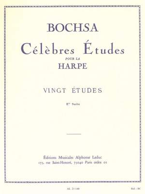 Robert Nicholas Charles Bochsa: 20 Etudes Vol.1