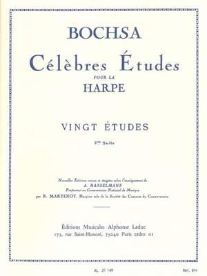 Robert Nicholas Charles Bochsa: 20 Etudes Vol.2