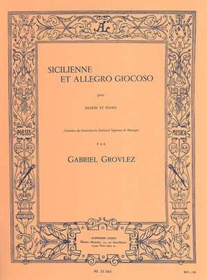 Gabriel Grovlez: Sicilienne and Allegro Giocoso