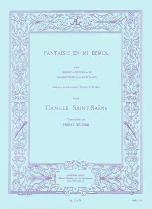 Camille Saint-Saëns: Fantasie Es.