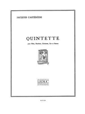 Jacques Castérède: Jacques Casterede: Quintette