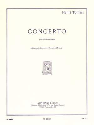 Henri Tomasi: Concerto For Horn And Orchestra