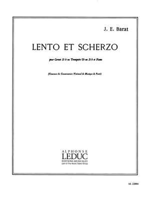 Jacques Barat: Lento Et Scherzo