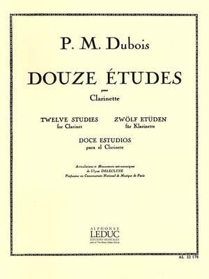 Dubois: 12 Etudes