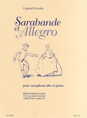 Gabriel Grovlez: Sarabande & Allegro