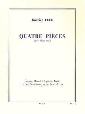 Jindrich Feld: 4 Pieces