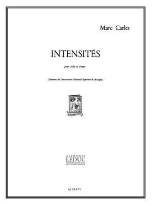 Marc Carles: Intensites