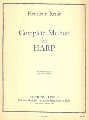Henriette Renié: Complete Method for Harp Vol. 1