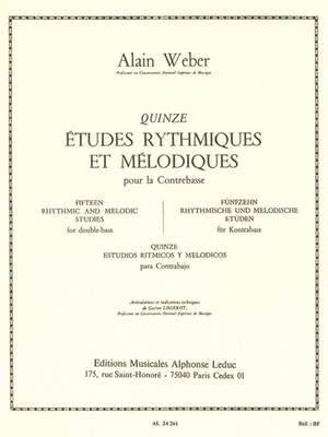 Alain Weber: 15 Rhythmic And Melodic Studies