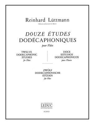 Luttmann: 12 Etudes Dodecaphoniques