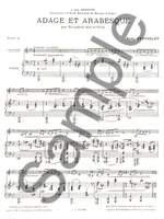 René Berthelot: Adage and Arabesque (Alto Saxophone and Piano) Product Image