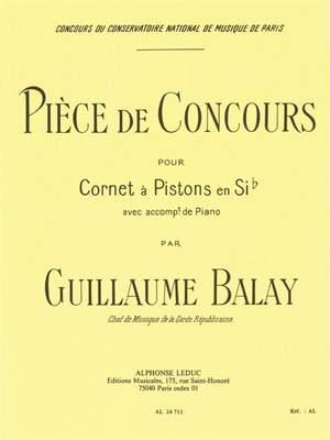 Guillaume Balay: Piece De Concours