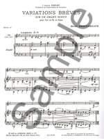 René Berthelot: Variations breves sur un Chant scout Product Image