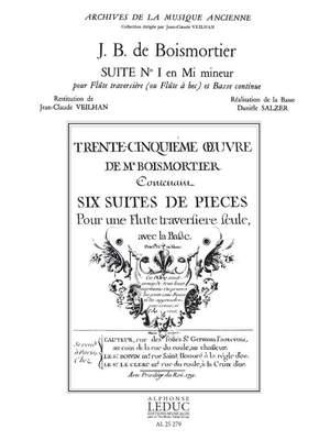 Joseph Bodin de Boismortier: Suite No.1 in E minor