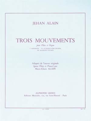 Alain: 3 Mouvements