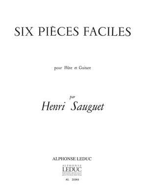 Henri Sauguet: 6 Pieces Faciles