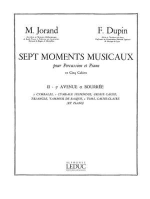 Marcel Jorand_François Dupin: 7 Moments musicaux 2 - 5e Avenue et Bourrée