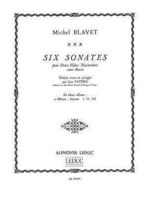 Michel Blavet: Michel Blavet: 6 Sonates Vol.1: No.1 - No.3