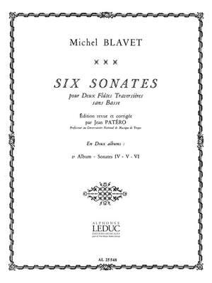 Michel Blavet: Michel Blavet: 6 Sonates Vol.2: No.4 - No.6